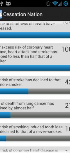 QUIT SMOKING – CESSATION NATION App ScreenShot5