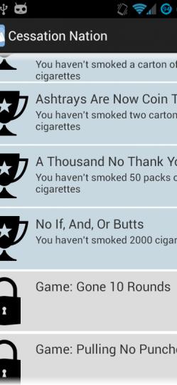 QUIT SMOKING – CESSATION NATION App ScreenShot7