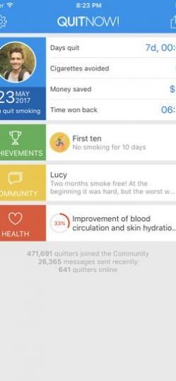 Quit Now! App ScreenShot1
