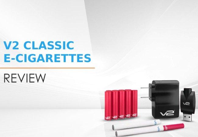 V2 Classic E-Cigarettes Review image