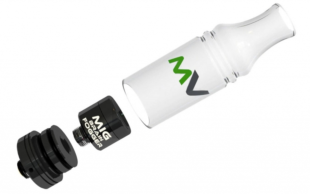 Dab Pen Atomizer Brain Fogger SUB-40 Mini image
