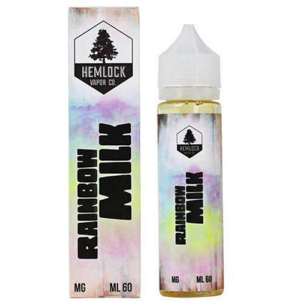 Hemlock Vapor Co. E-Juice Rainbow Milk image