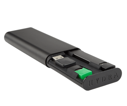 The Hyrdatech JUUL Case will keep your JUUL charged