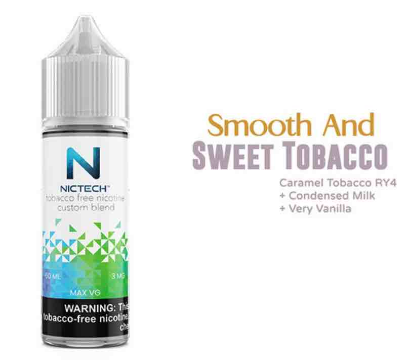 Smooth And Sweet Tobacco Vape Juice