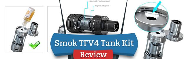 SMOK TFV4 Sub-Ohm Tank Kit Review