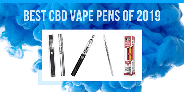 10 Best CBD Vape Pens & Disposables of 2019: Ultimate Buying