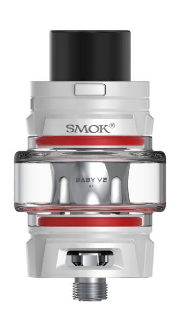 SMOK TFV8 Baby V2 Sub Ohm Vape Tank white