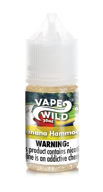 VapeWild E-Juice_Banana_Hammock