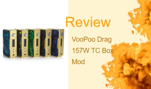 VooPoo Drag Review – 157W Box Mod with Chip