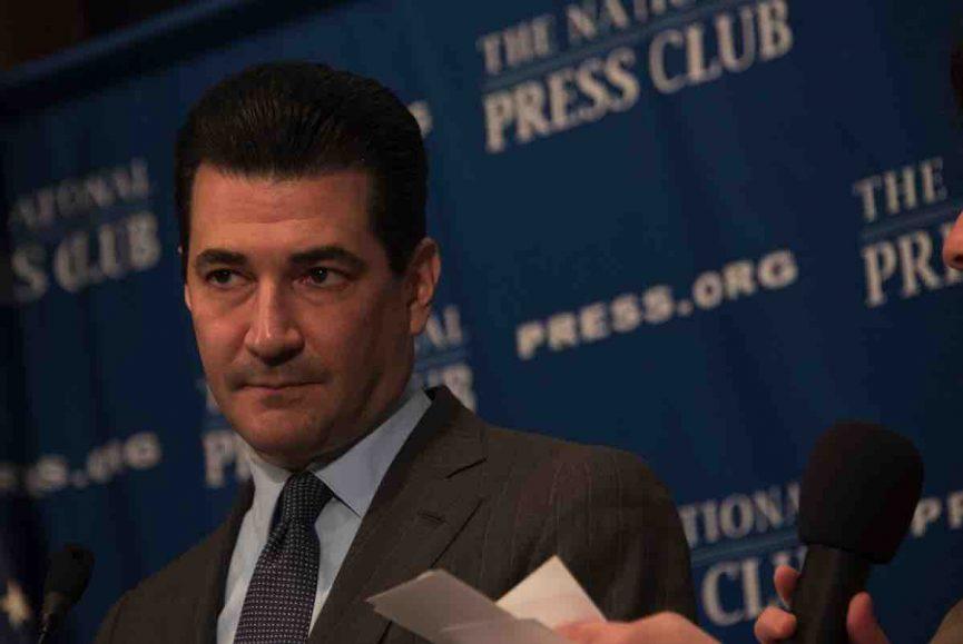 FDA_commissioner_Scott_Gottlieb resigns