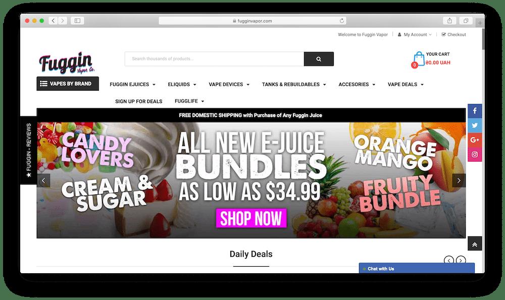 Fuggin Vapor – Premium E-liquids and Mods
