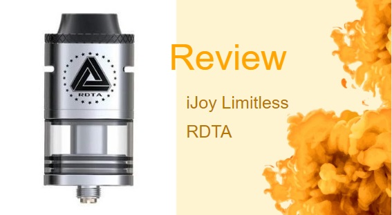 IJoy Limitless RDTA: A Customizable High-Power RDTA