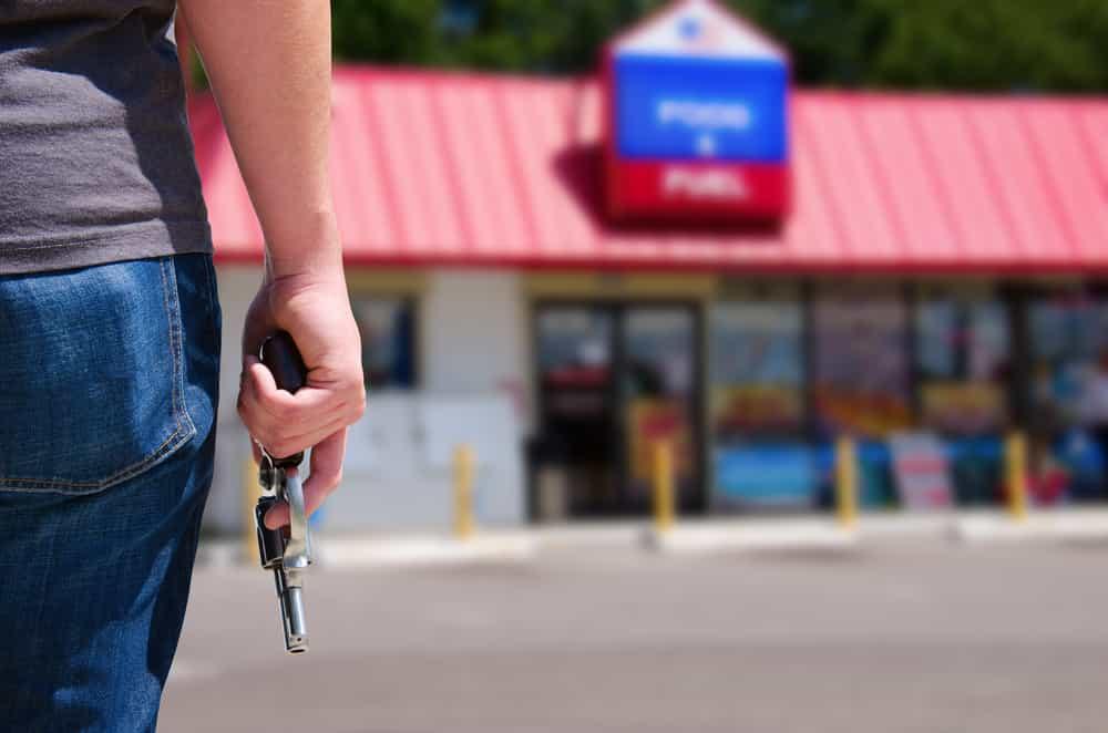 Vape shop robbery