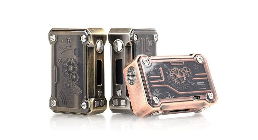 Tesla Punk 220W colors Vape MOD img