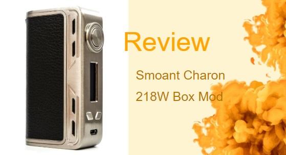 Smoant Charon 218W mini Box Mod