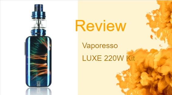 Vaporesso Luxe Vape Mod with Good Vibrations
