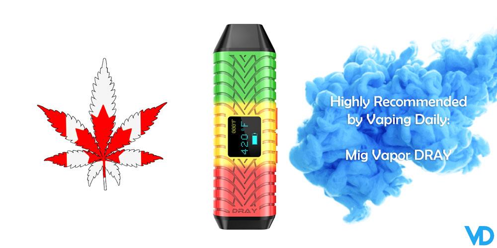 best vaporizer in Canada 2020