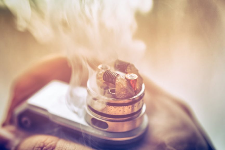 Vaping temperature for e-liquids, concentrates and dry herbs