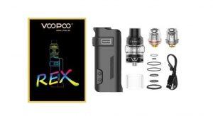 VooPoo REX 80W Box Mod Kit: Everything a First-Time Vaper Needs