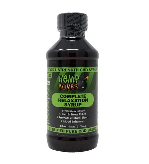 100mg CBD Relaxation Syrup image