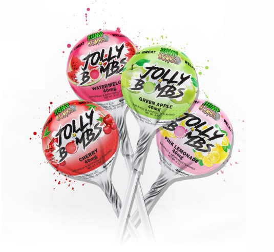 CBD Lollipops – Jolly Bombs 4-pack image