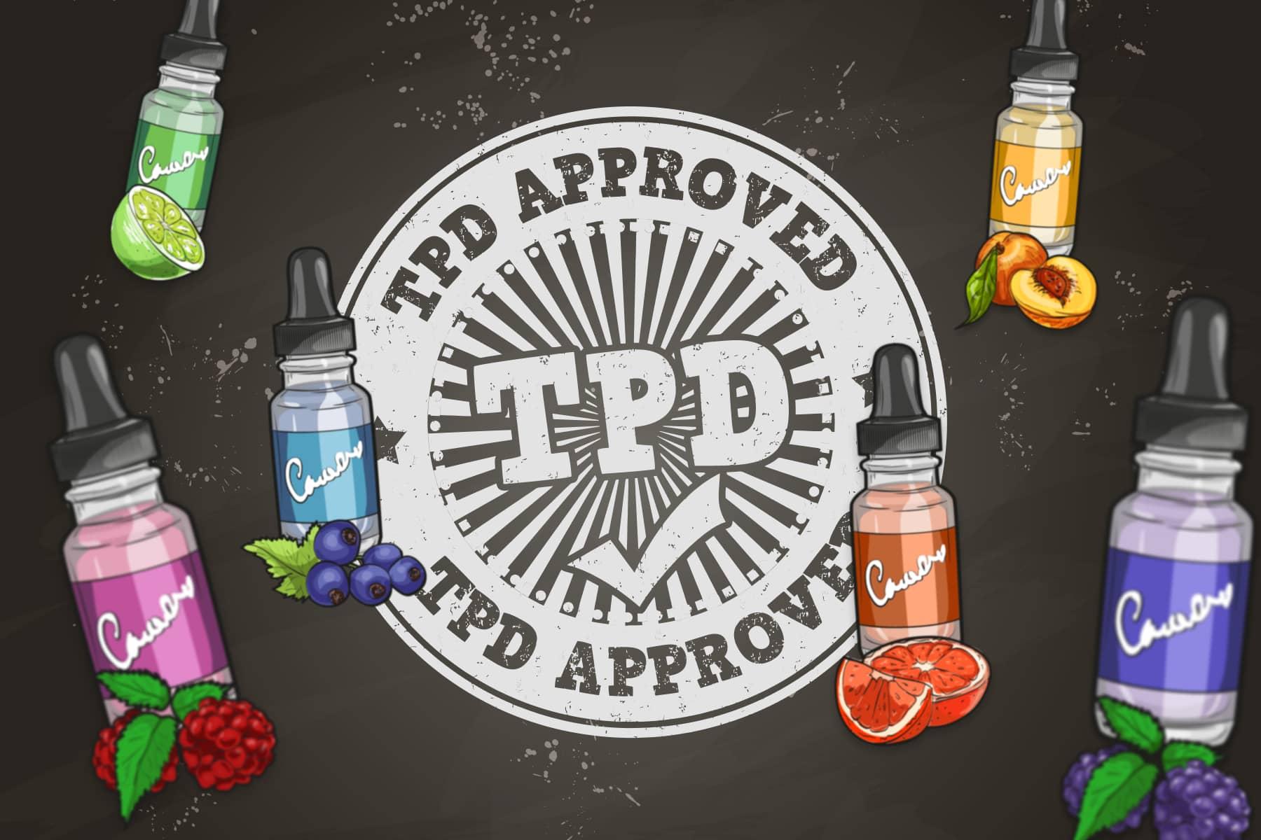 tpd compliant e-liquids