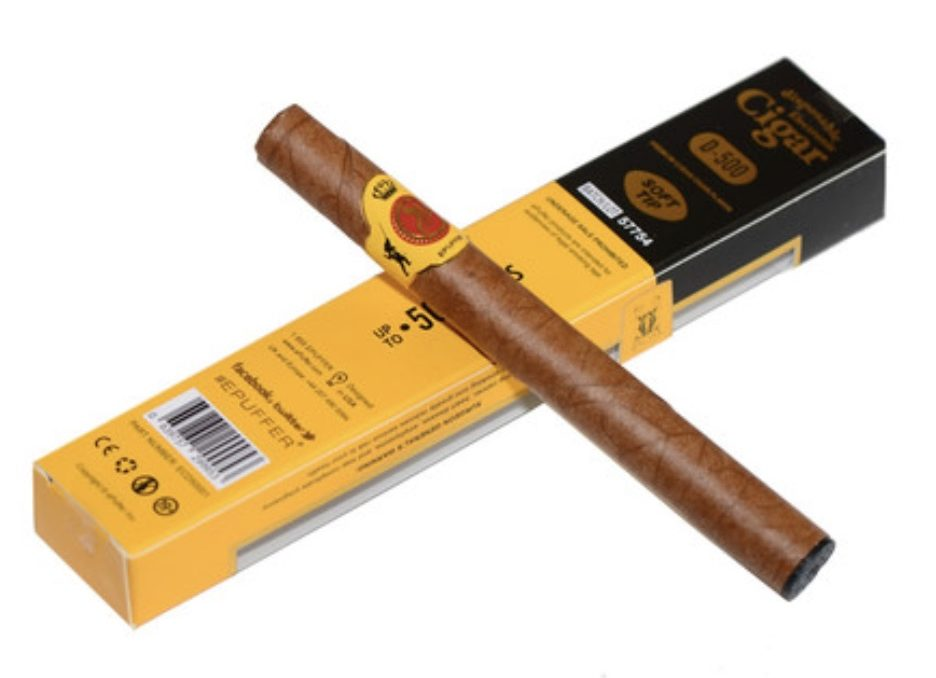 slim-epuffer-D500-disposable-e-cigar-image