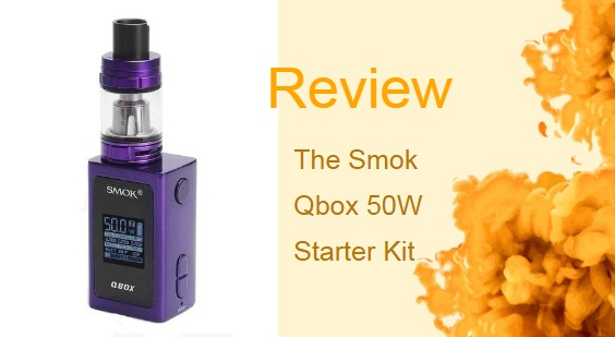The Smok Qbox 50W C Box Mod Starter Kit