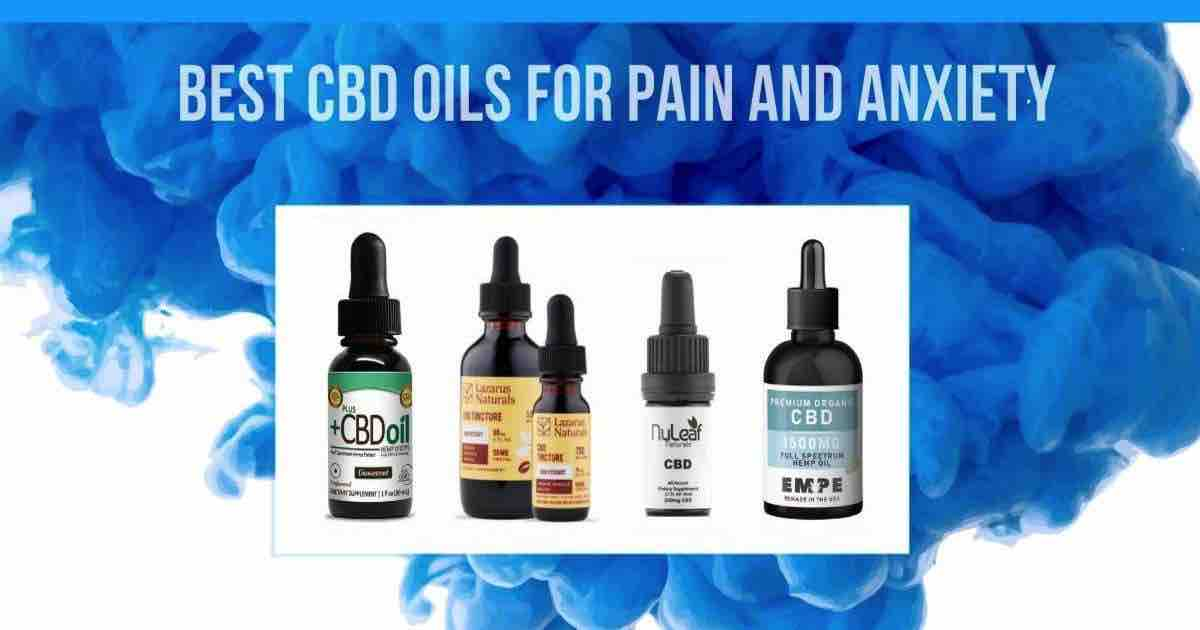The Best CBD Oils for Pain & Anxiety for 2020: Full Buyer's Guide
