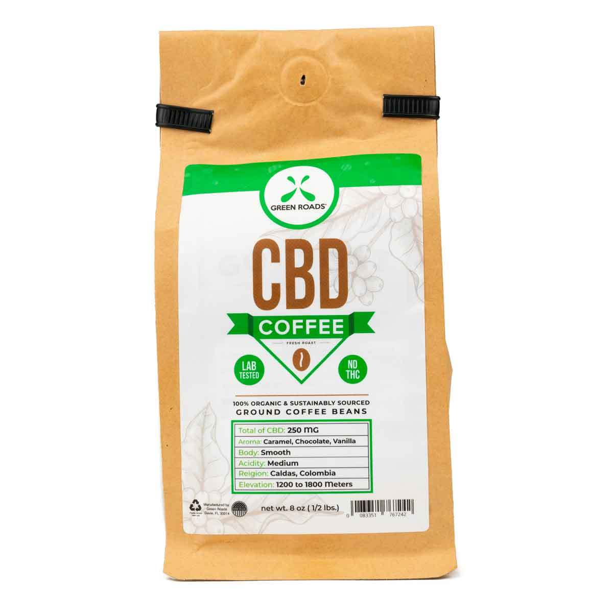 Green Roads Cbd Coffee 8oz
