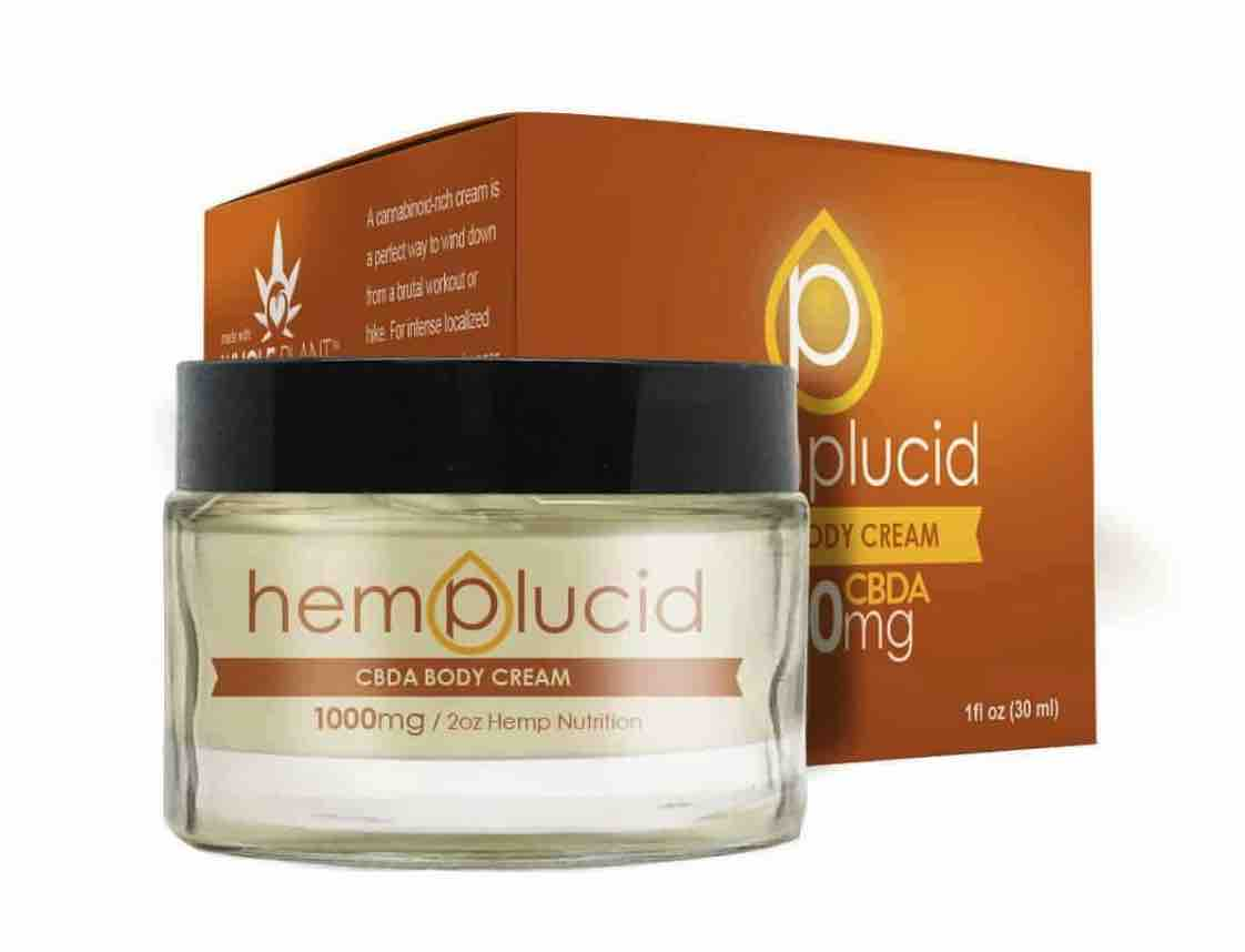 Hemplucid CBDA Topical Lotion