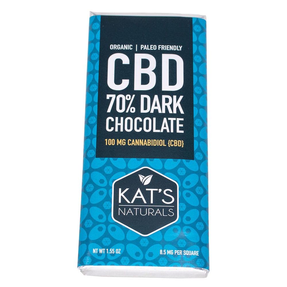 Kats Naturals Activated Hemp Dark Chocolate