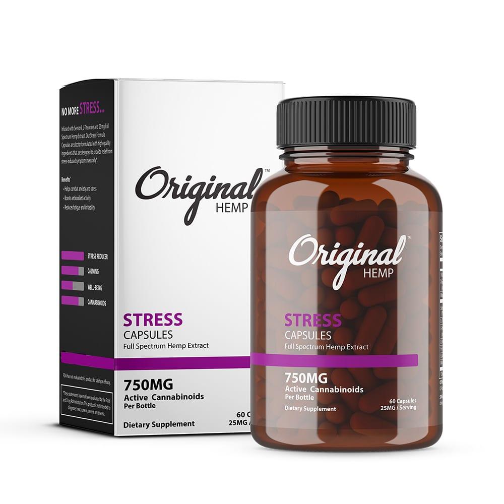 original-hemp-stress-capsule-60-count-750mg-image