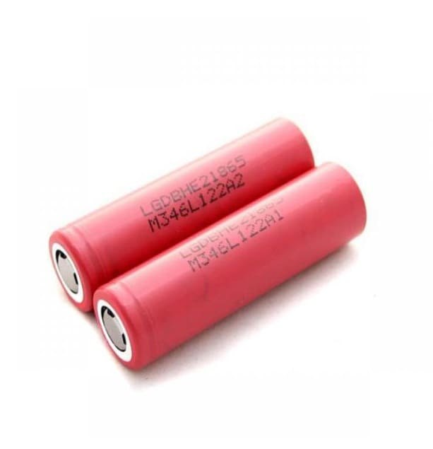 LG HE2 18650 2500mAh 20A Battery image