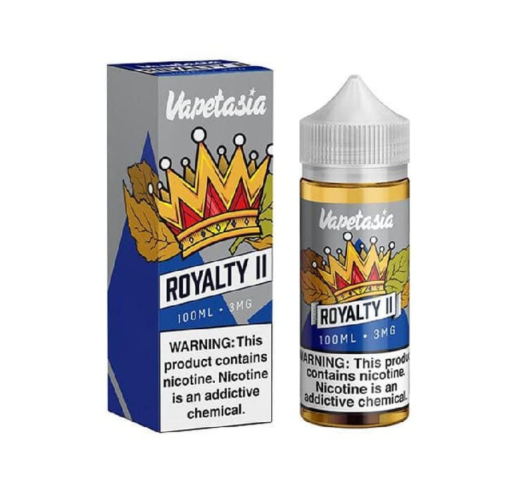 Vapetasia E-Juice Royalty image