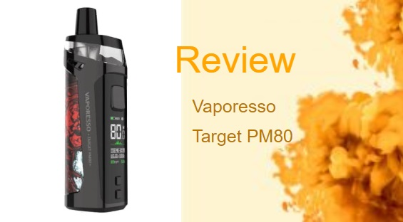 The Vaporesso Target PM80: Small but Powerful Vape