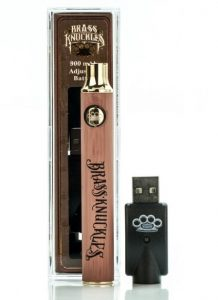 Brass-Knuckles-THC Oil-battery-with-usb-charger-image