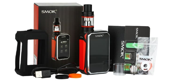 SMOK G-priv what in the kit image