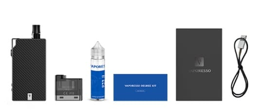 vaporesso degree what in the kit