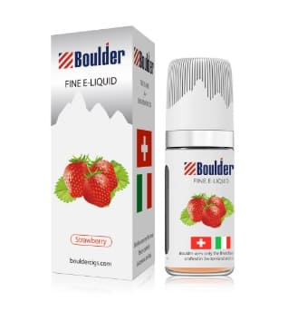 Boulder Vape Juice Strawberry