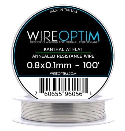WIREOPTIM - Kanthal A1 Resistance Ribbon Flat Wire