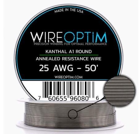 WIREOPTIM - Kanthal A1 Resistance Wire Odd Gauges