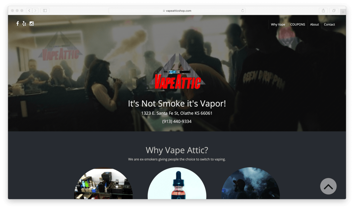 Vape Attic Review: A Family-Owned Place to Vape the Day Away