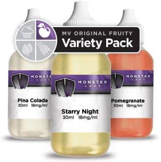 Monster Vape Original MVO Fruity Variety Pack