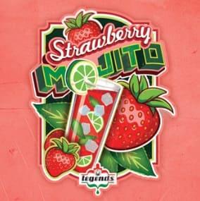 Monster Vape Premium MVL Strawberry Mojito
