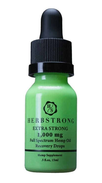 Herbstrong Extrastrong Recovery Drops