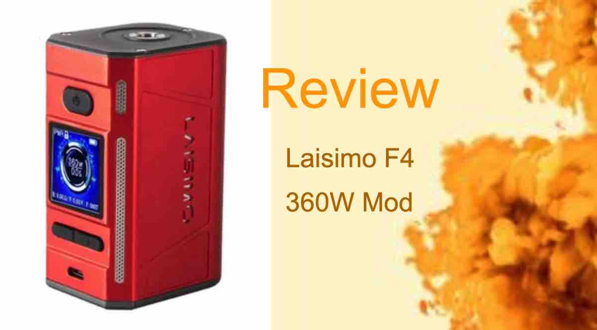 Laisimo F4 Review: Vaping With the Big Boys
