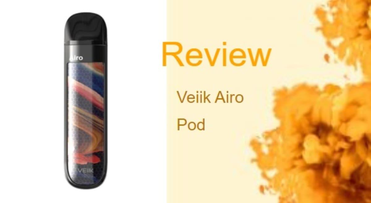 Veiik Airo Pod Review: Luxurious & Button-Free