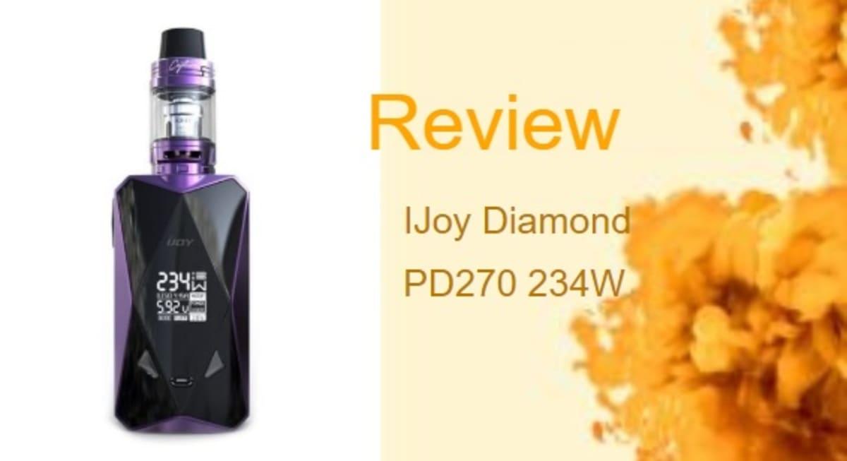 IJoy Diamond Review: The Diamond of Every Vaper's Eye