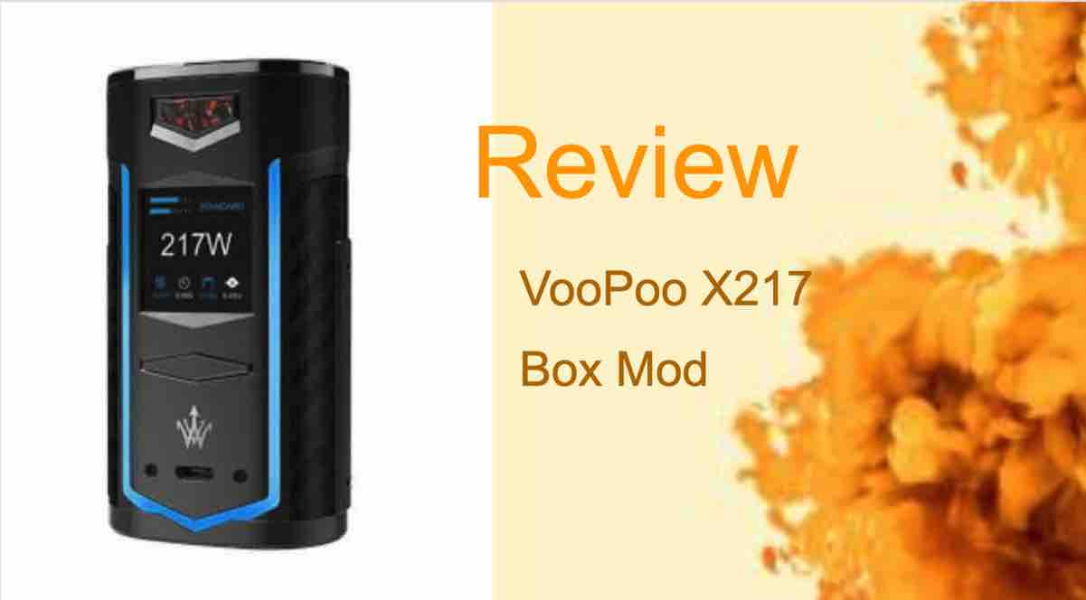 VooPoo X217 Review: The Mod That Breathes